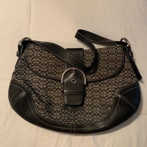 Coach Purse with signature pattern